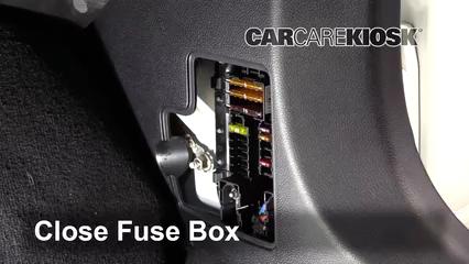 interior fuse box location 2015 2019 mercedes benz c300. Black Bedroom Furniture Sets. Home Design Ideas