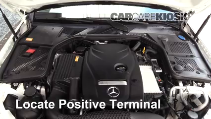 How to Jumpstart a 2015-2019 Mercedes-Benz C300 - 2015 Mercedes-Benz