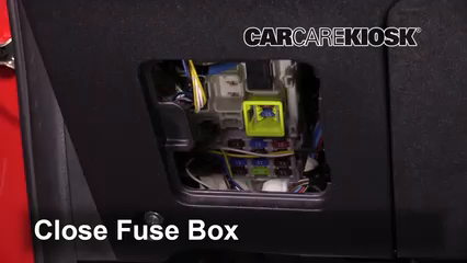 Interior Fuse Box Location 2014 2018 Mitsubishi Mirage 2015