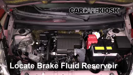 2015 Mitsubishi Mirage ES 1.2L 3 Cyl. Brake Fluid