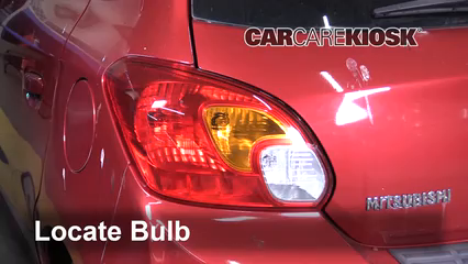 2015 Mitsubishi Mirage ES 1.2L 3 Cyl. Lights