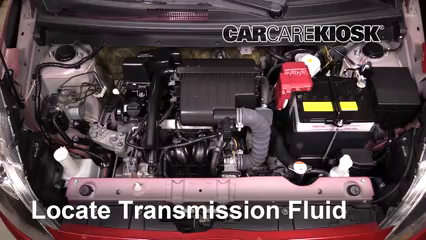 2015 Mitsubishi Mirage ES 1.2L 3 Cyl. Transmission Fluid