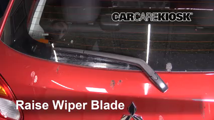 2015 Mitsubishi Mirage ES 1.2L 3 Cyl. Windshield Wiper Blade (Rear)