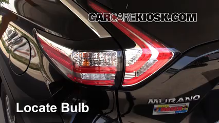 2015 Nissan Murano Platinum 3.5L V6 Lights
