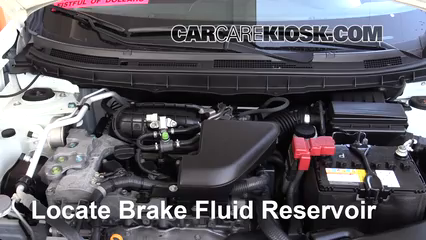 2015 Nissan Rogue Select S 2.5L 4 Cyl. Brake Fluid