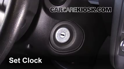 2015 Nissan Rogue Select S 2.5L 4 Cyl. Clock