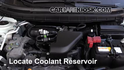 2015 Nissan Rogue Select S 2.5L 4 Cyl. Coolant (Antifreeze)