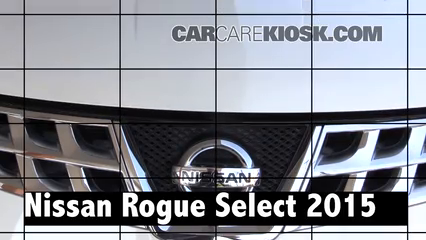 2015 Nissan Rogue Select S 2.5L 4 Cyl. Review