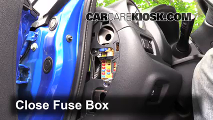 interior fuse box location 2014 2017 nissan versa note 2015 rh carcarekiosk com 2014 nissan versa note fuse box nissan note fuse box location