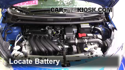 Battery Replacement: 2014 2017 Nissan Versa Note
