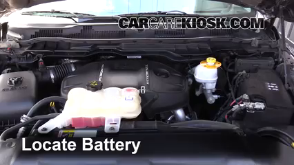 2015 Ram 1500 Laramie Longhorn 3.0L V6 Turbo Diesel Battery