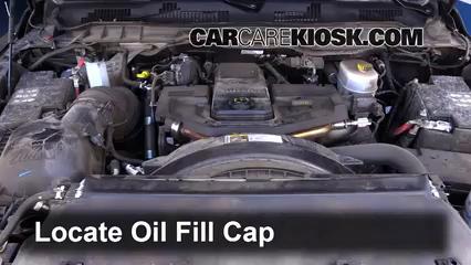 2016 dodge ram 3500 diesel oil