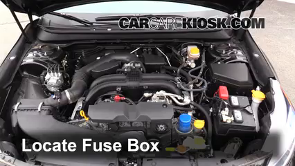 2015 Subaru Legacy 2.5i Premium 2.5L 4 Cyl. Fuse (Engine) Replace