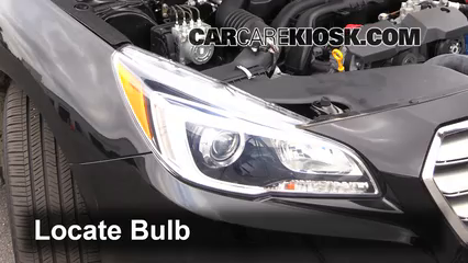 2015 Subaru Legacy 2.5i Premium 2.5L 4 Cyl. Lights Highbeam (replace bulb)
