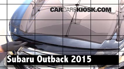 2015 Subaru Outback 3.6R Limited 3.6L 6 Cyl. Review