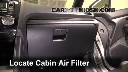 2015 Subaru WRX Limited 2.0L 4 Cyl. Turbo Air Filter (Cabin)