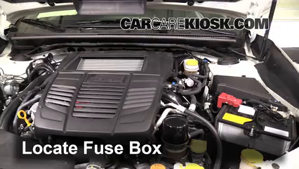 2015 Subaru WRX Limited 2.0L 4 Cyl. Turbo Fuse (Engine)