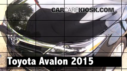 2015 Toyota Avalon XLE 3.5L V6 Review