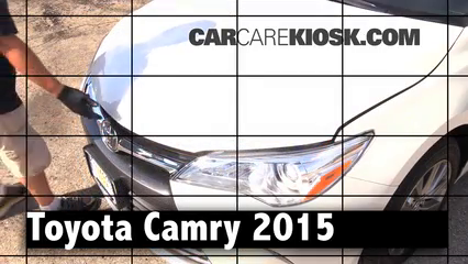 2015 Toyota Camry XLE 2.5L 4 Cyl. Review