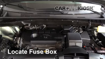 2015 Toyota Highlander LE 2.7L 4 Cyl. Fuse (Engine) Replace