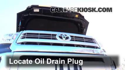 Oil & Filter Change Toyota Tundra (2014-2019) - 2015 Toyota Tundra