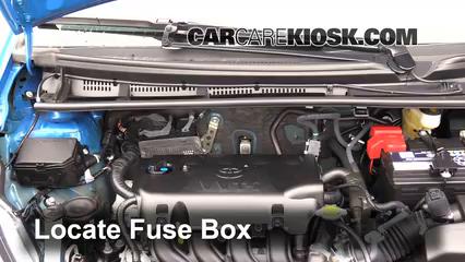 2015 Toyota Yaris LE 1.5L 4 Cyl. Hatchback %284 Door%29%2FFuse Engine Part 1 blown fuse check 2012 2016 toyota yaris 2015 toyota yaris le 1 5 toyota vitz fuse box at fashall.co