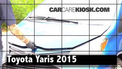 2015 Toyota Yaris LE 1.5L 4 Cyl. Hatchback (4 Door) Review