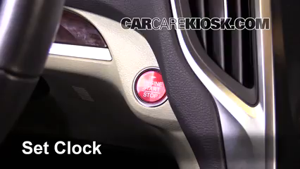 2015 Acura TLX 2.4L 4 Cyl. Reloj