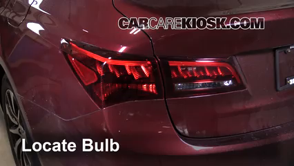 2015 Acura TLX 2.4L 4 Cyl. Luces