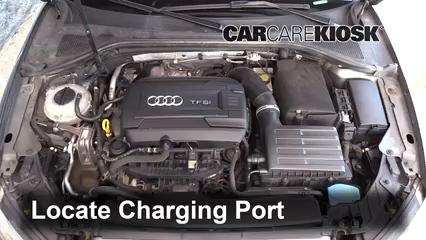 2015 Audi A3 Quattro Premium 2.0L 4 Cyl. Turbo Convertible Aire Acondicionado Agregar Freón