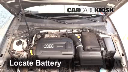 2015 Audi A3 Quattro Premium 2.0L 4 Cyl. Turbo Convertible Batería