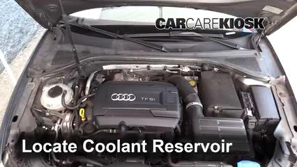 2015 Audi A3 Quattro Premium 2.0L 4 Cyl. Turbo Convertible Refrigerante (anticongelante) Cambiar refrigerante