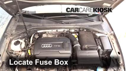 2015 Audi A3 Quattro Premium 2.0L 4 Cyl. Turbo Convertible Fusible (motor) Cambio