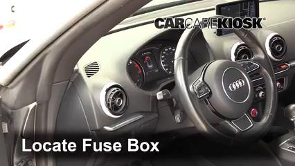 2015 Audi A3 Quattro Premium 2.0L 4 Cyl. Turbo Convertible Fusible (interior) Cambio