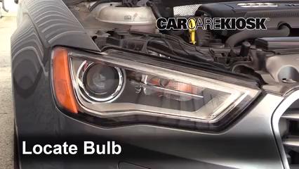 2015 Audi A3 Quattro Premium 2.0L 4 Cyl. Turbo Convertible Luces Luz de giro delantera (reemplazar foco)
