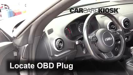 2015 Audi A3 Quattro Premium 2.0L 4 Cyl. Turbo Convertible Compruebe la luz del motor Diagnosticar