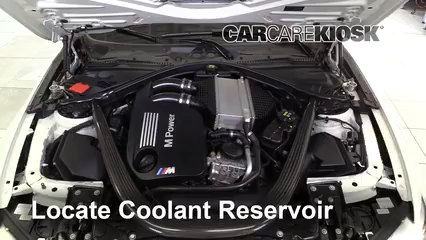 2015 BMW M4 3.0L 6 Cyl. Turbo Coupe Pérdidas de líquido Refrigerante (anticongelante) (arreglar pérdidas)