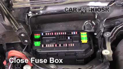 Replace a Fuse: 2014-2020 BMW M4 - 2015 BMW M4 3.0L 6 Cyl. Turbo Coupe | Bmw M4 Fuse Box |  | CarCareKiosk