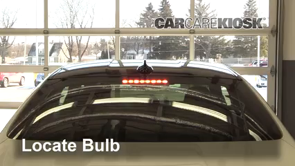2015 BMW M4 3.0L 6 Cyl. Turbo Coupe Luces Luz de freno central (reemplazar foco)