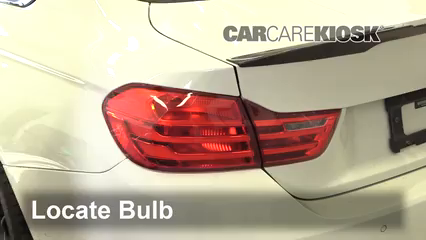 2015 BMW M4 3.0L 6 Cyl. Turbo Coupe Luces Luz trasera (reemplazar foco)