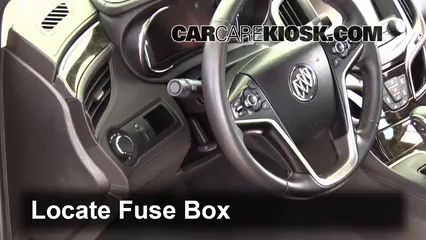 2015 Buick LaCrosse Leather 3.6L V6 FlexFuel Fusible (interior)