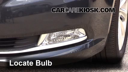 2015 Buick LaCrosse Leather 3.6L V6 FlexFuel Éclairage Feu antibrouillard (remplacer l'ampoule)