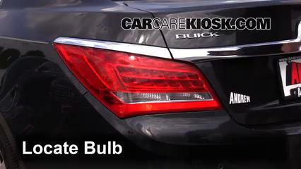 2015 Buick LaCrosse Leather 3.6L V6 FlexFuel Éclairage Feux de marche arrière (remplacer une ampoule)