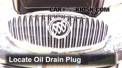 2015 Buick LaCrosse Leather 3.6L V6 FlexFuel Huile Changer l'huile et le filtre à huile