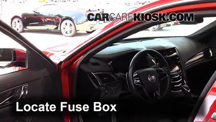 2015 Cadillac CTS 2.0L 4 Cyl. Turbo Fusible (interior)
