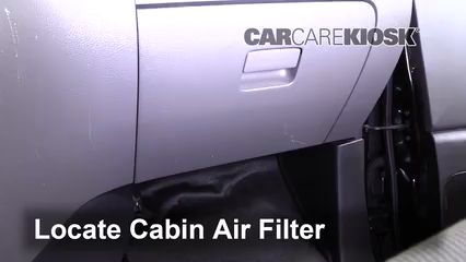 2015 Chevrolet City Express LS 2.0L 4 Cyl. Filtre à air (intérieur) Changement