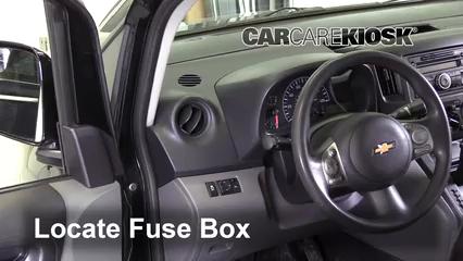 2015 Chevrolet City Express LS 2.0L 4 Cyl. Fusible (intérieur) Remplacement