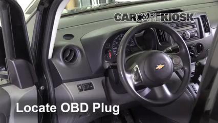 2015 Chevrolet City Express LS 2.0L 4 Cyl. Lumière « Check engine » du moteur Diagnostic
