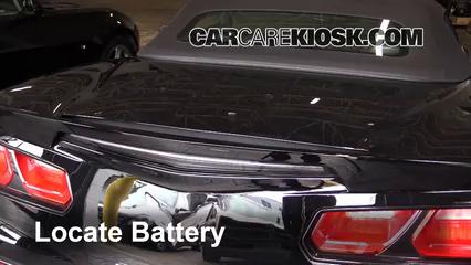 2015 Chevrolet Corvette Stingray 6.2L V8 Convertible Battery
