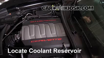 2015 Chevrolet Corvette Stingray 6.2L V8 Convertible Coolant (Antifreeze)